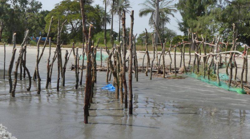 épi Diogué plage du campement militaire