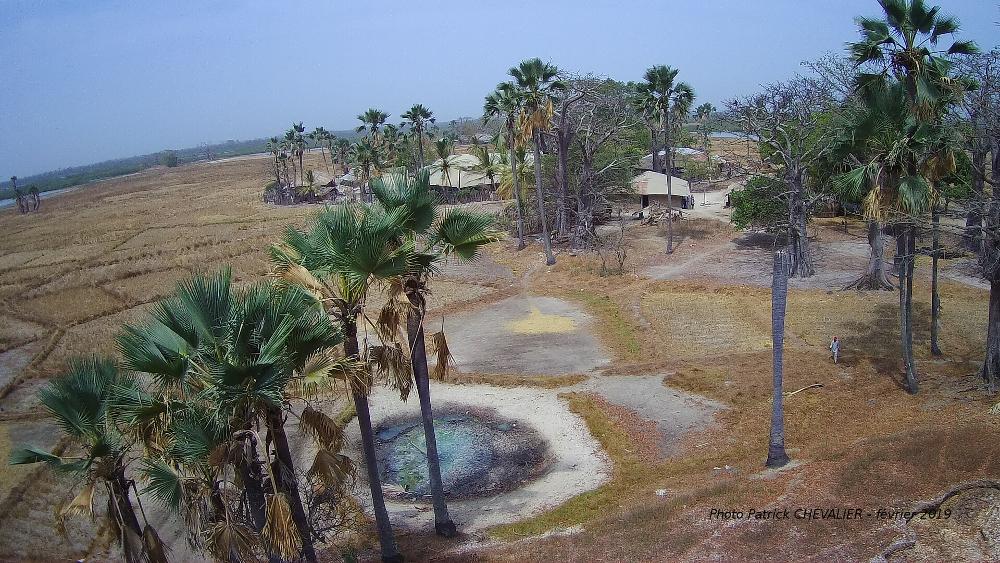 village et rizière