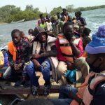 Les élèves de Diogué arrivant à Ehidj